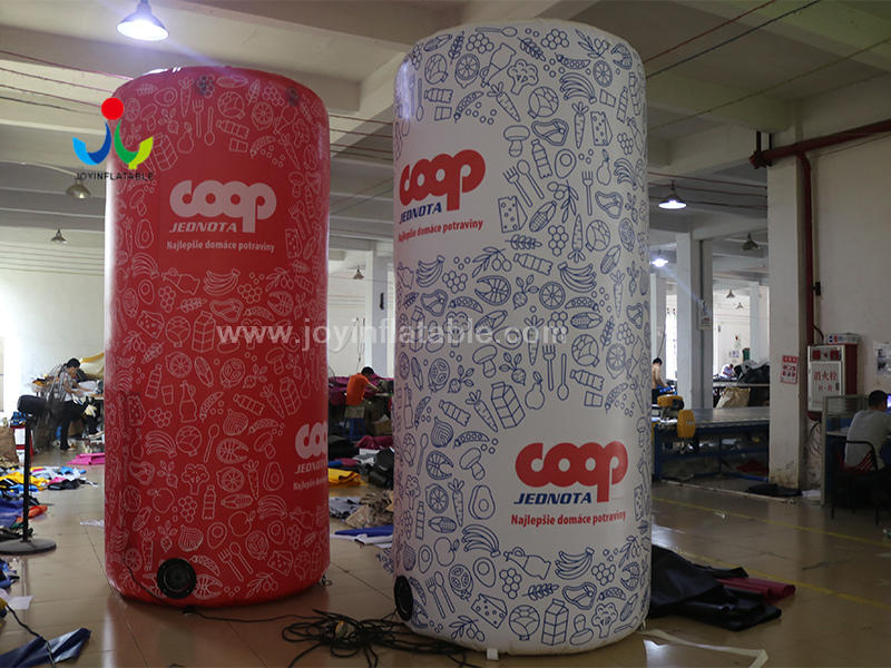 Wedding Party Decoration Inflatable Column Pillar For Ourdoor Advertising Video