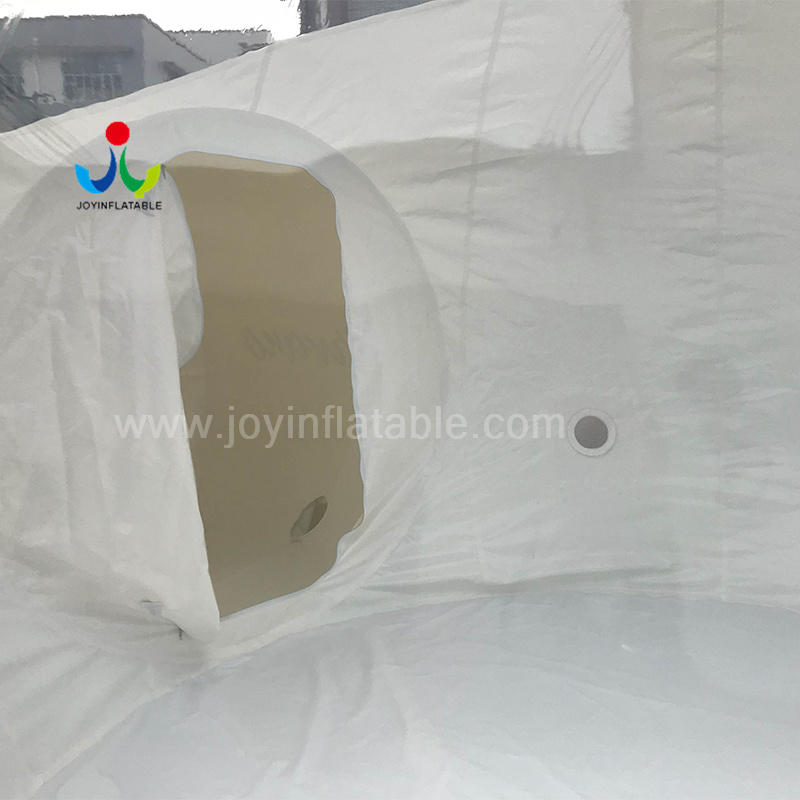 4 Diameter Inflatable Transparent Lodge Bubble Camping Tent