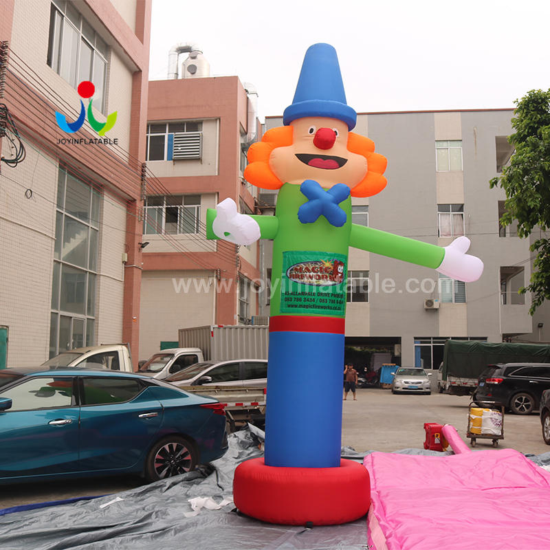 Manufacturer Opening Celebration Air Dance Star Beckoning Clown Advertising Inflatable Man