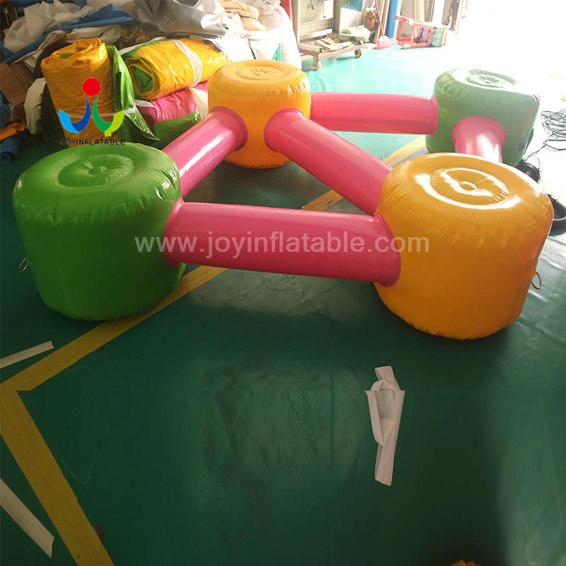 JOY inflatable inflatable lake trampoline factory price for outdoor