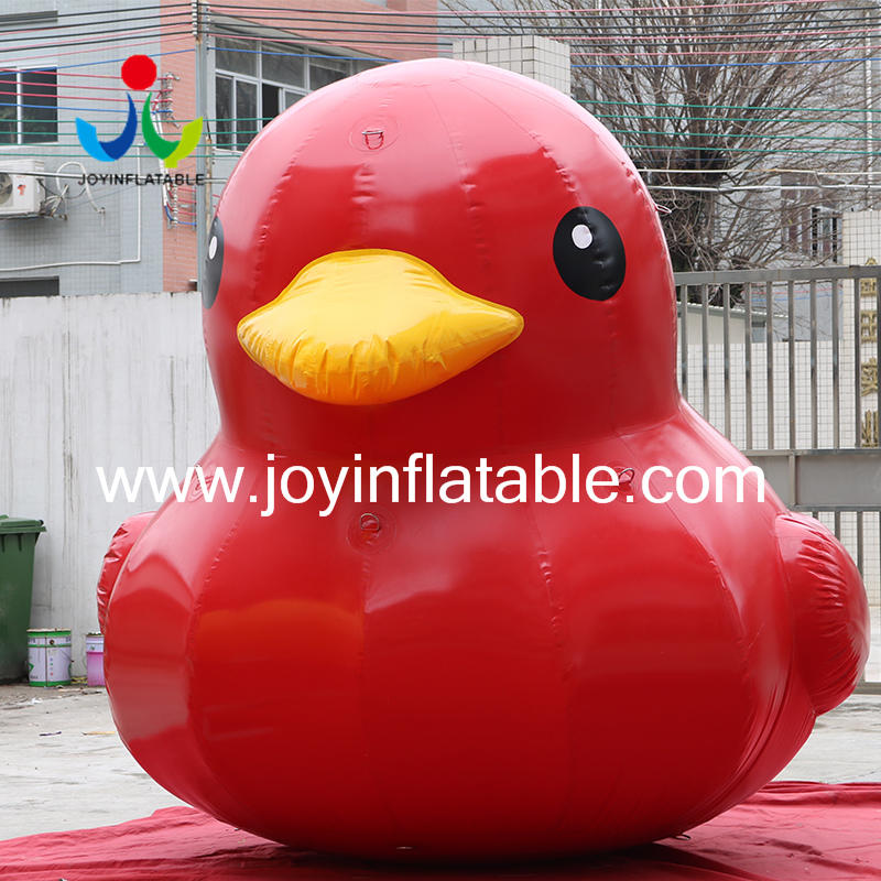 Inflatable Model Cartoon Big Floating Duck For Commercial Advertising Promotion