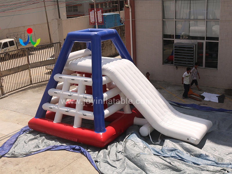 Commercial Air Sealed Giant Inflatable Floating Water Slide Equipment for Adult Video