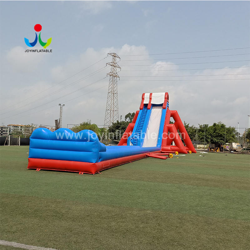 Large Outdoor PVC Commercial Air Long Climbing Slide Inflatable Water Slip And Slide Sale