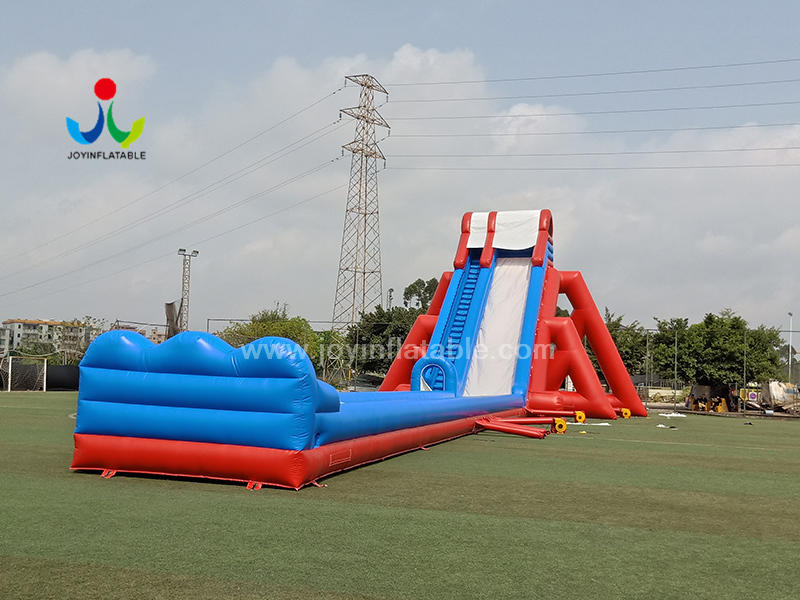 Large Outdoor PVC Commercial Air Long Climbing Slide Inflatable Water Slip And Slide Sale Video