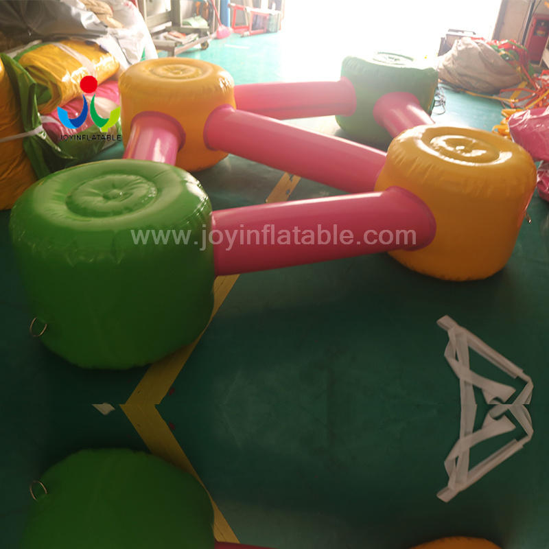 Hot Inflatable Water Floating Island Bed Park Video