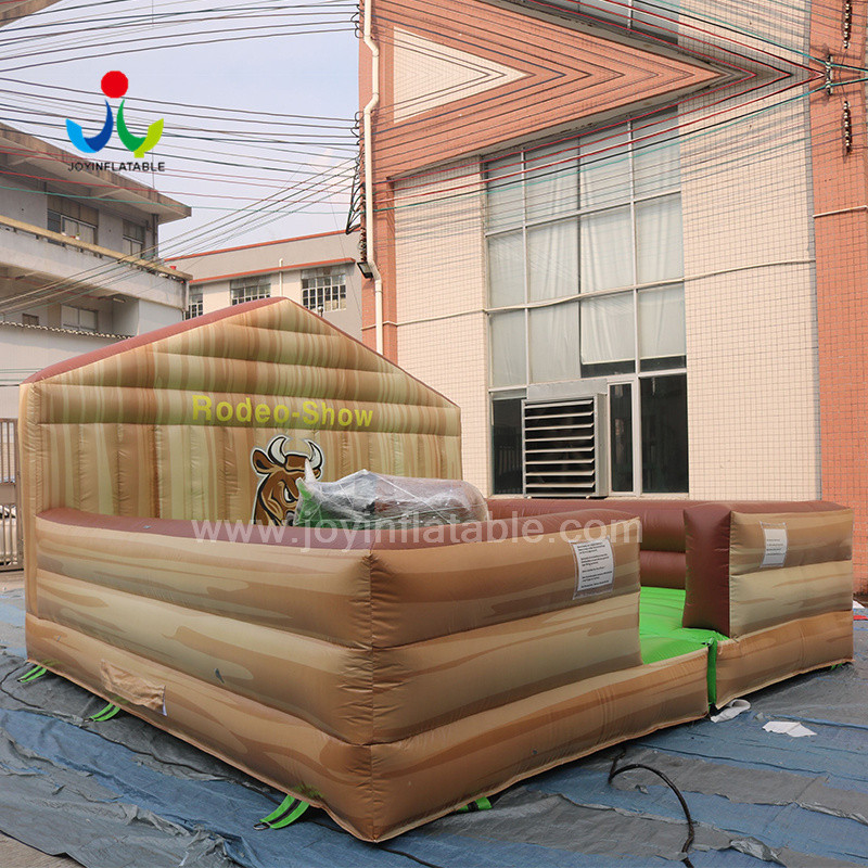 JOY inflatable mobile mechanical bull riding from China for kids-4
