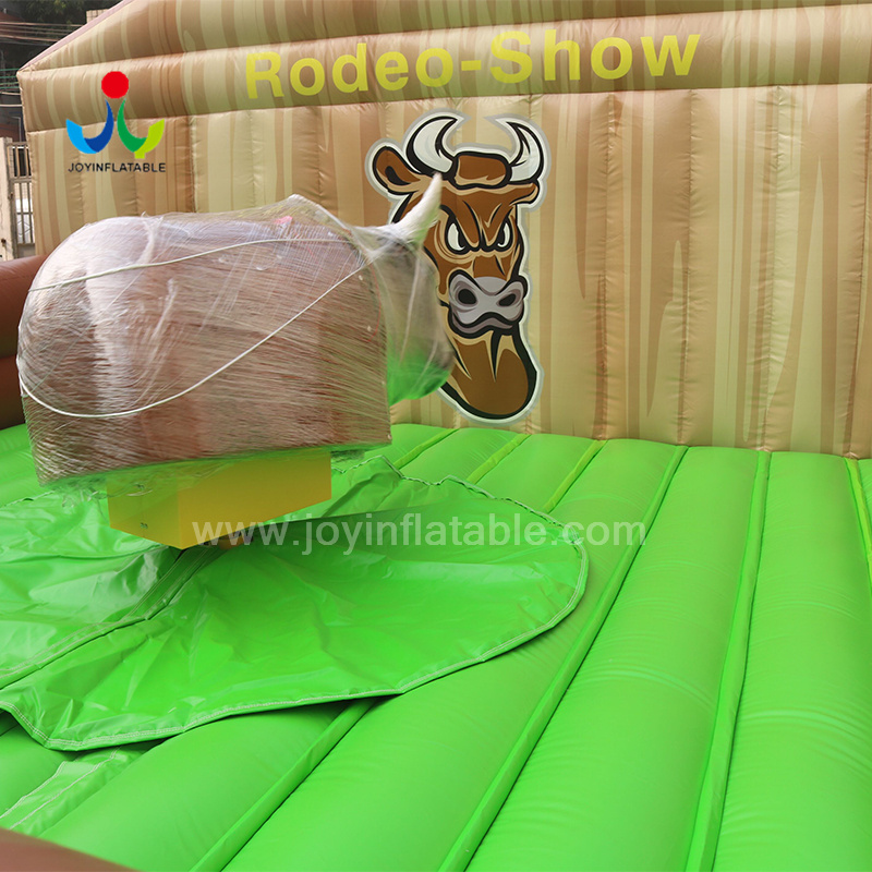 JOY inflatable mobile mechanical bull riding from China for kids-7