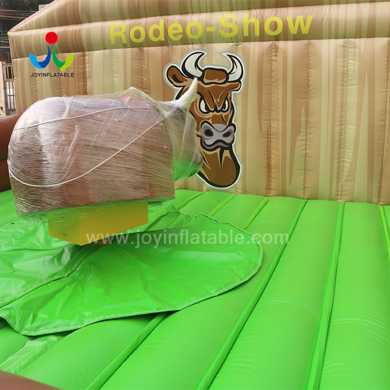 JOY inflatable mobile mechanical bull riding from China for kids