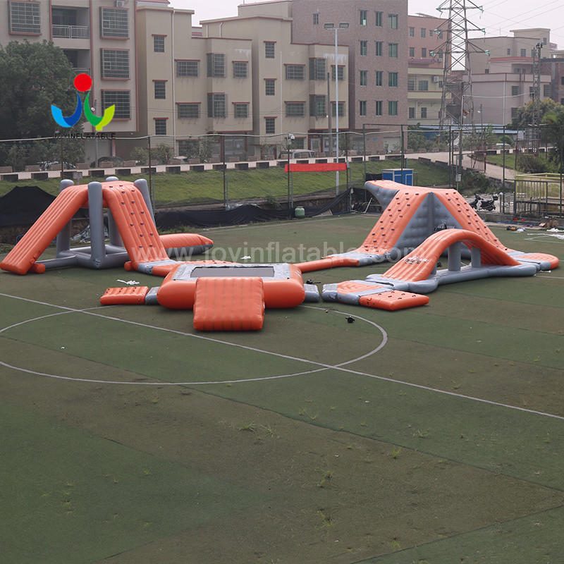 JOY inflatable jumping floating playground design for kids