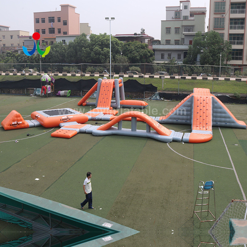course blow up trampoline inquire now for children-8