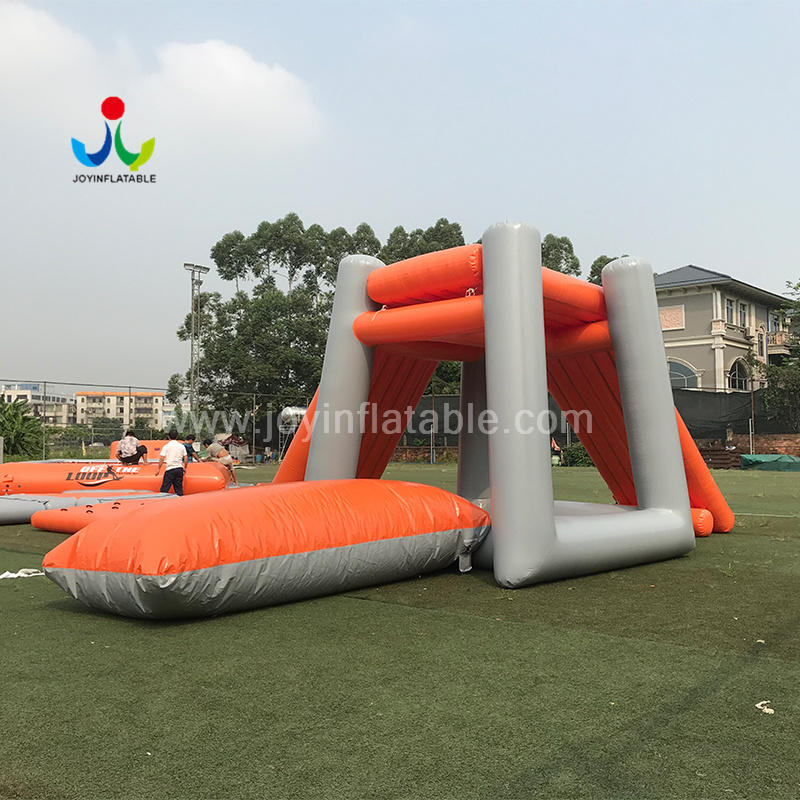 Inflatable Water Blob Jumping Pillow With Floating Water Slide