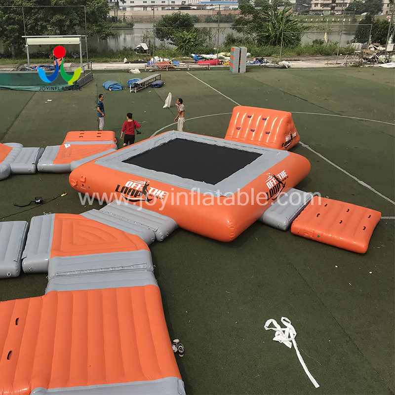 JOY inflatable action inflatable water park for lake for outdoor-4