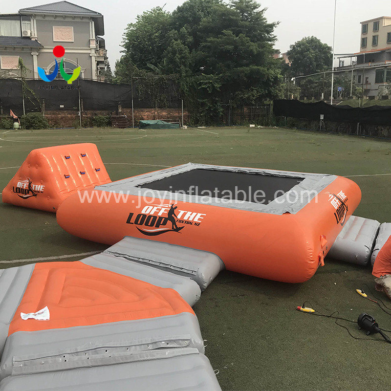 JOY inflatable action inflatable water park for lake for outdoor-5