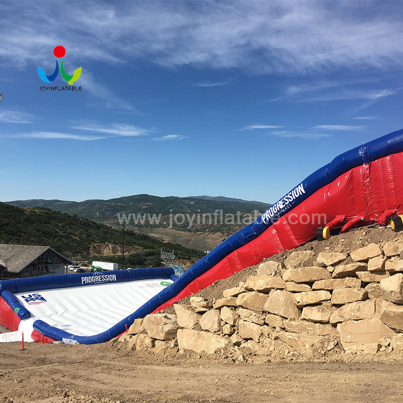 JOY inflatable airbag  stunt mat manufacturer for outdoor