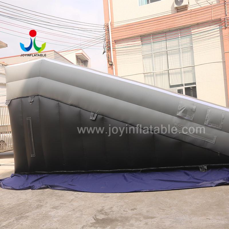 Custom Extreme Sport Inflatable Skiing Jump Stunt Ramp Air Bag