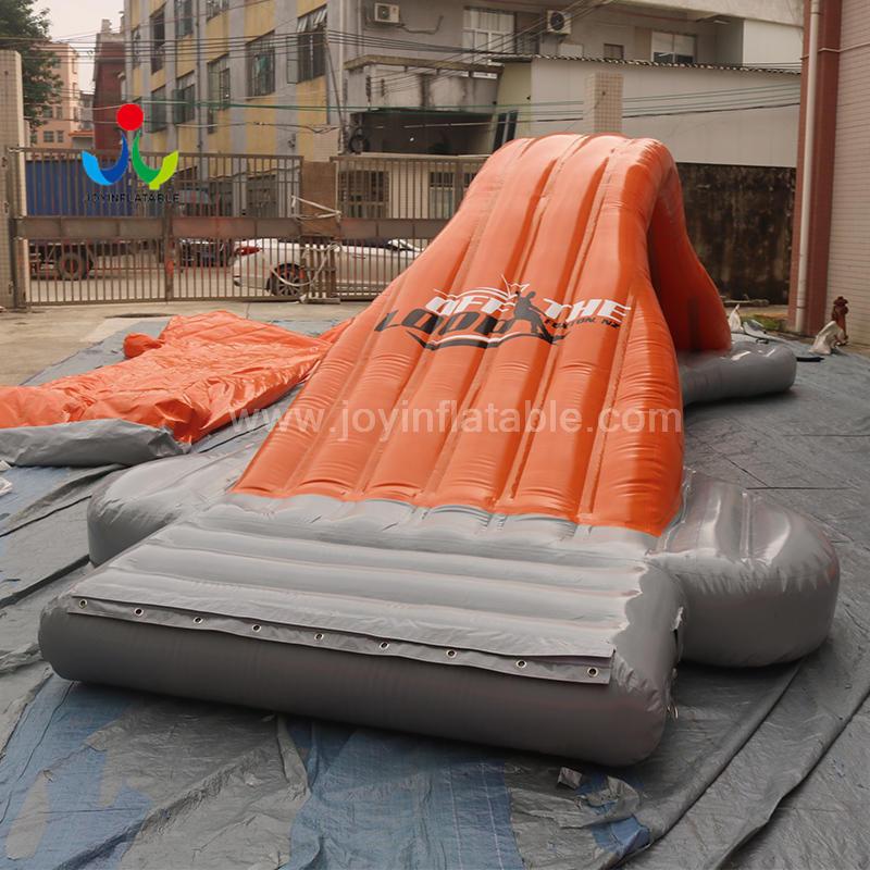Manufacturer Huge Inflatable Water Slide Floating Trampoline Sport Games Park for Adult