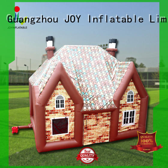 Custom pvc Inflatable cube tent 8x7x5m JOY inflatable