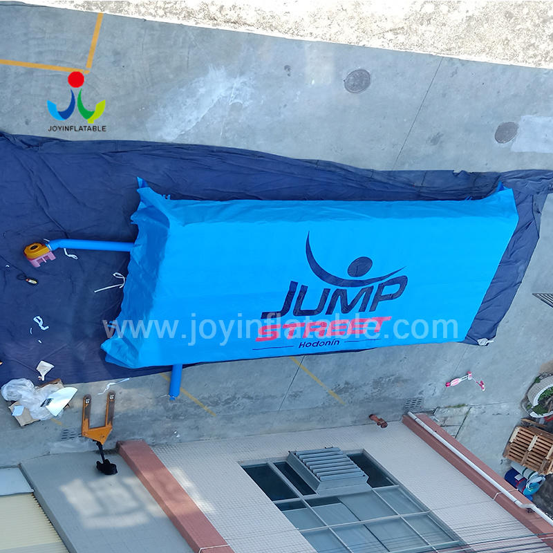 Indoor Freefall Inflatable Stunt Jump Foam Pit Airbag for Trampoline Park