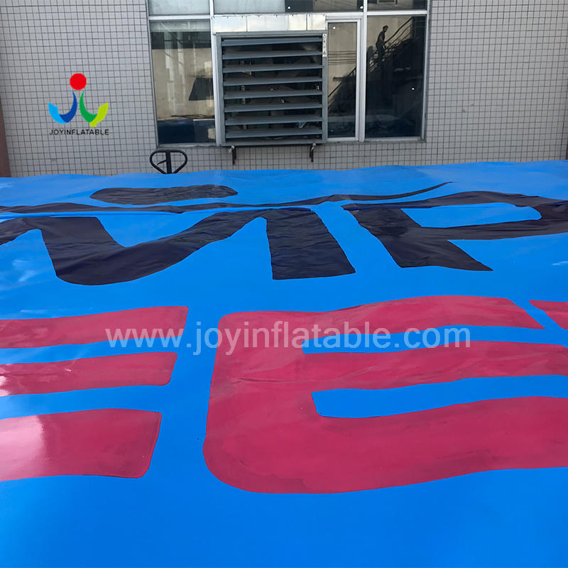 JOY inflatable pad acrobag customized for outdoor
