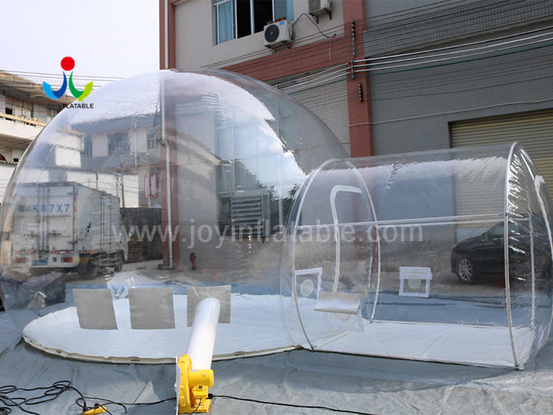 Outdoor Inflatable Clear Igloo Bubble Tent House for Camping Video