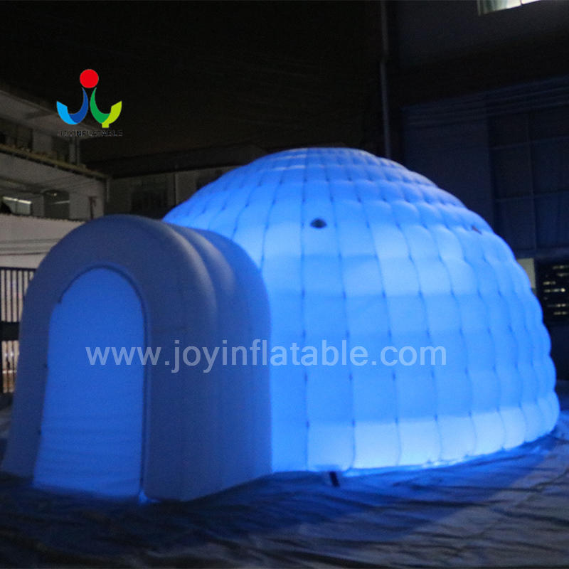 Outdoor Exhibition Inflatable Backyard  Party Tent with LED