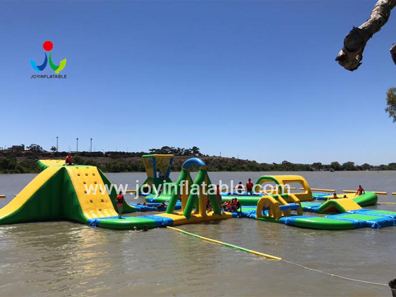 JOY inflatable floating playground design for kids