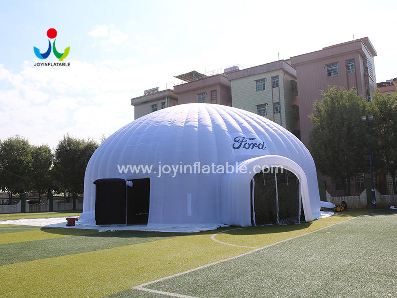 Diameter 18.6m Lawn Giant Inflatable Dome Tent For Film Festival