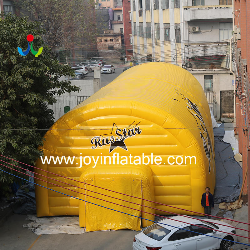 Double PVC Air Wall Waterproof Inflatable Airtight Sport Court Tent