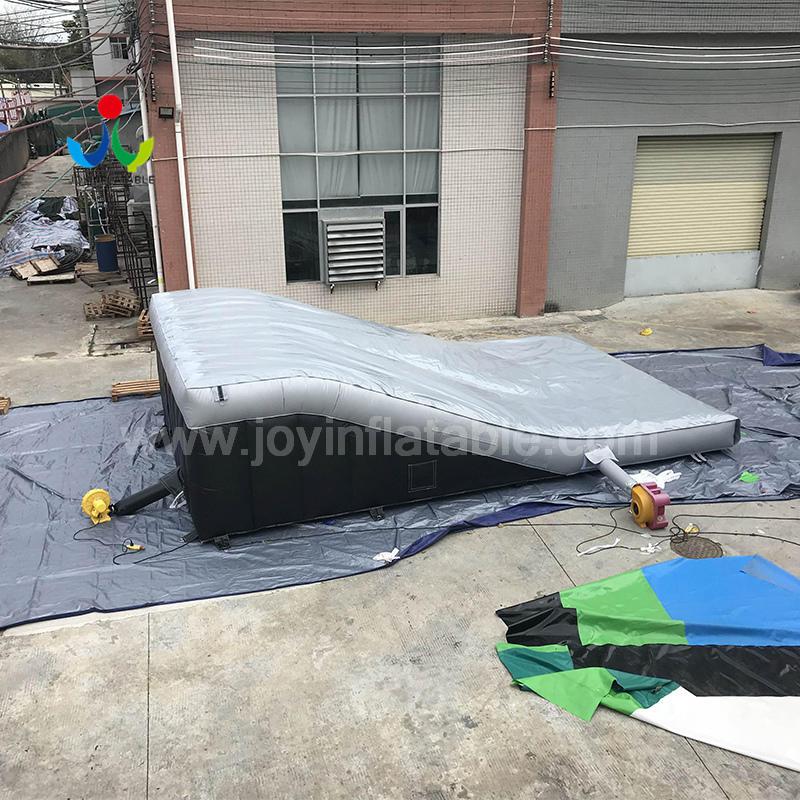Inflatable Ramp Landing Air bag For Bike Race