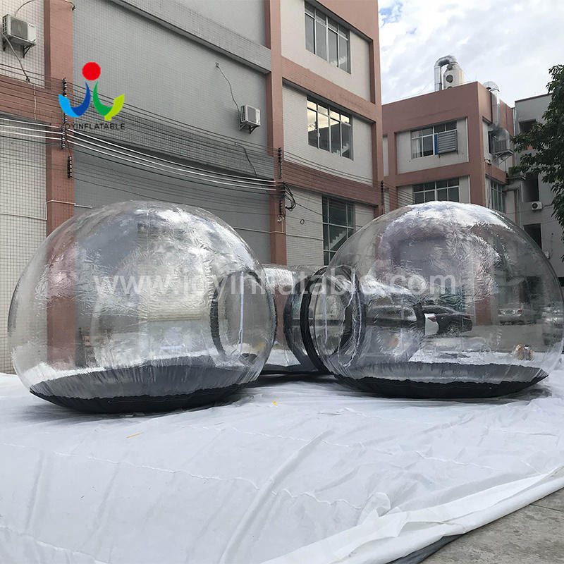 Commercial Transparent Bubble Inflatable Tent House For Lawn Exhibition