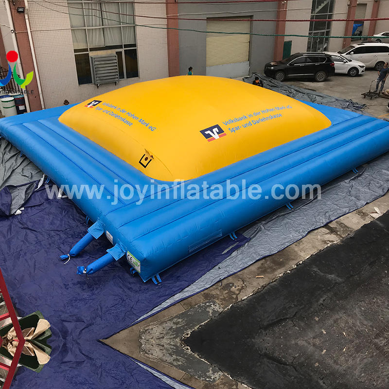 Commercial Inflatable Air Soft Mountain Climb Jumping Game Air Bag For Kids