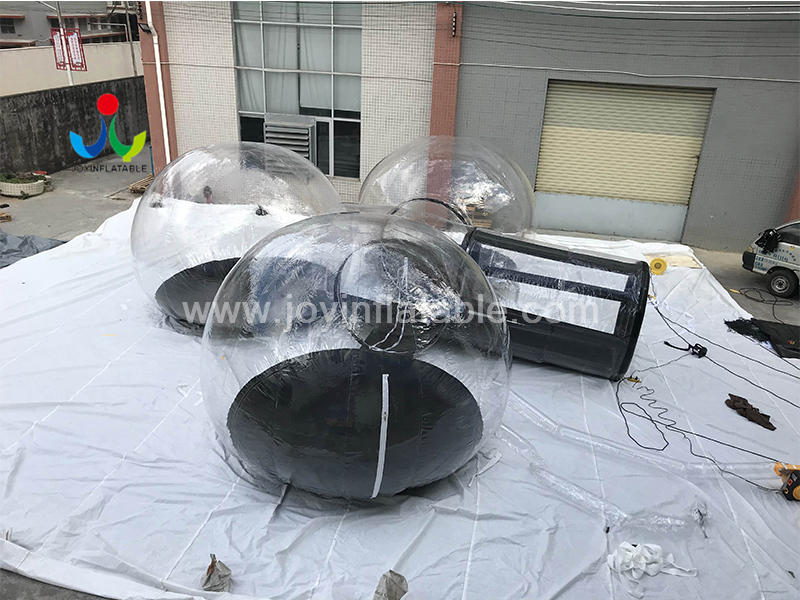 Transparent Bubble Inflatable Commercial Tent House For Lawn Exhibition Video