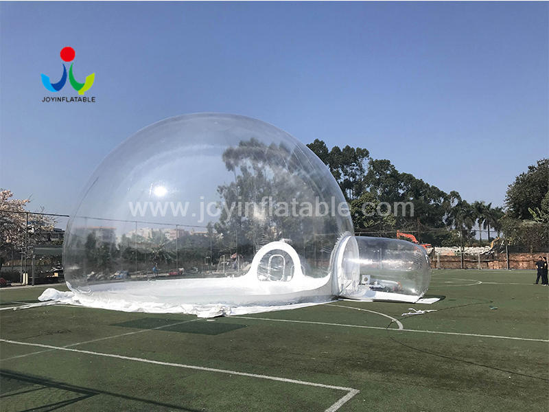 Giant Outdoor Clear Transparent Inflatable Crystal Bubble Dome Tent Video