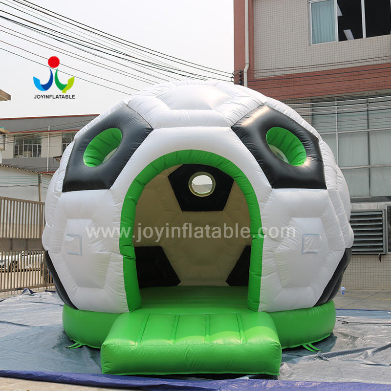 Soccer Ball Inflatable Football Bouncer Jumping Castle House For Kinds