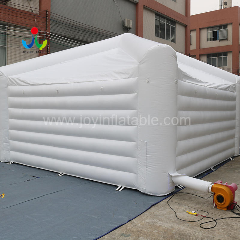 Mobile Fast Commercial Inflatable White Tent For Outdoor Banquet