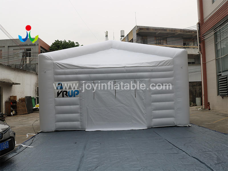 Mobile Fast Commercial Inflatable White Tent For Outdoor Banquet Video