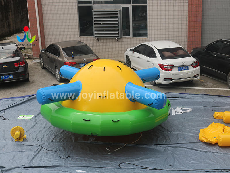 Inflatable Water Disco Saturn Rocker  For the water Sport Toys Video