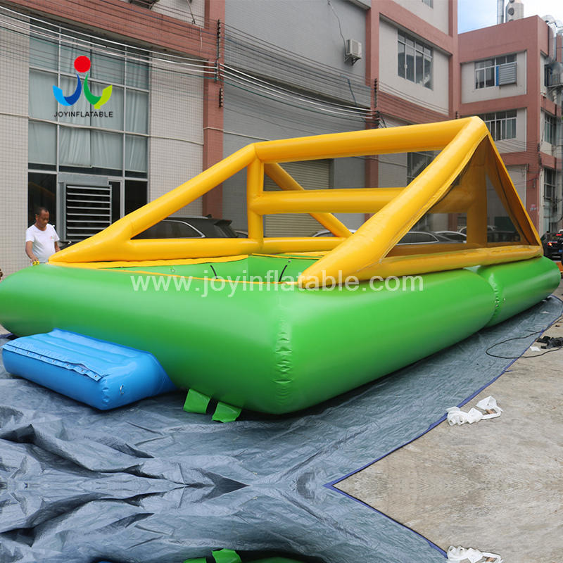 River Inflatable Floating Water Park Volleyball Trampoline adults and children