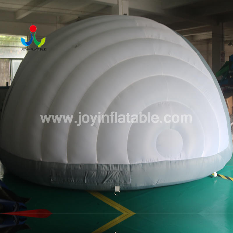 White Oxford Fabric LED Lighting Inflatable Dome Lawn Party Tents for Sale