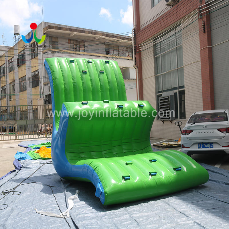 PVC Tarpaulin Material Customized Inflatable Floating Seesaw Water Game For Water Park