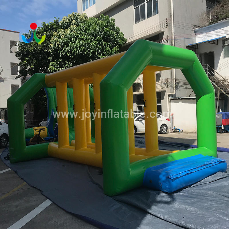 Inflatable Floating Obstacle Course Water Park For Sea