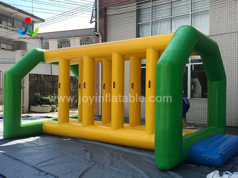Inflatable Floating Obstacle Course Water Park For Sea Video