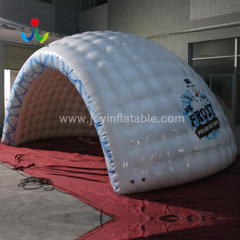 Portable Shell Dome Inflatable Igloo Tent For Outdoor Event Stage Covers