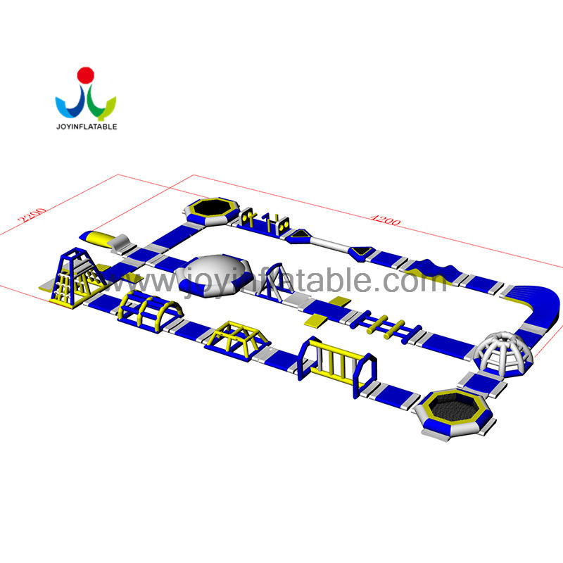 Inflatable Water Sports Game Amusement Park For Sea/  Lake/ river