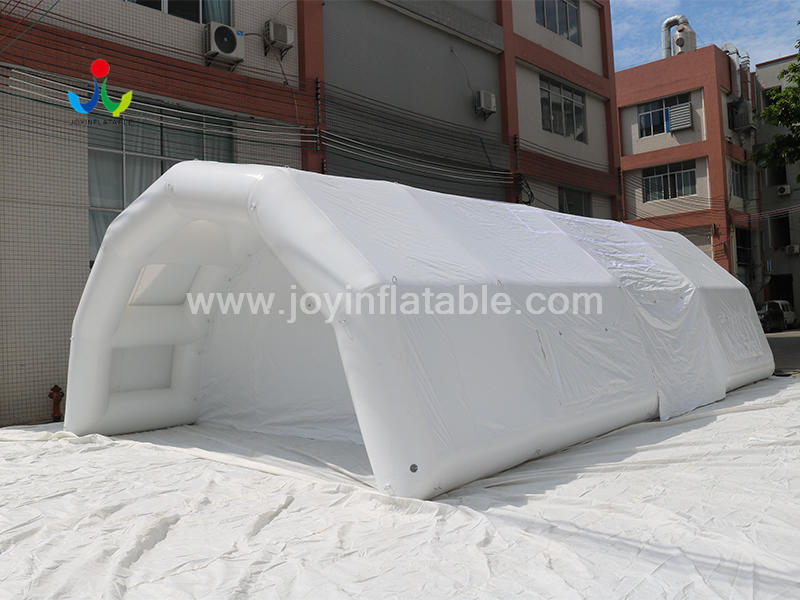 Inflatable CoronaVirus Medical Screening For Emergency Shelter Video