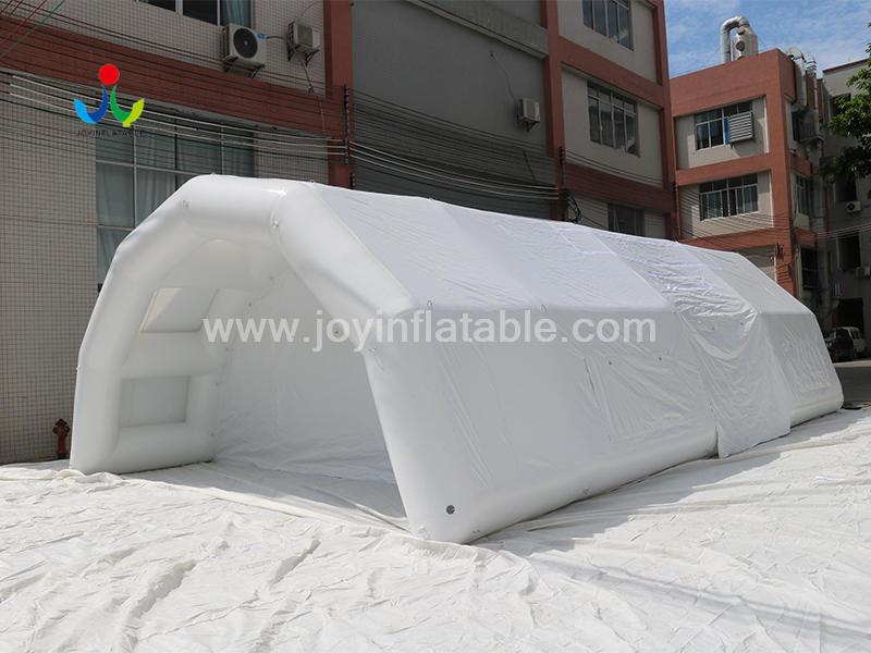 Inflatable CoronaVirus Medical Screening For Emergency Shelter Video