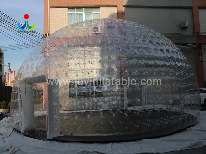 Inflatable Airtight Bubble Dome Tent for Outdoor Lawn Camping Video