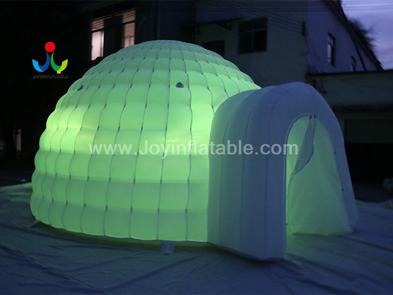 Inflatable Air Building Dome Double Layer Tent Video