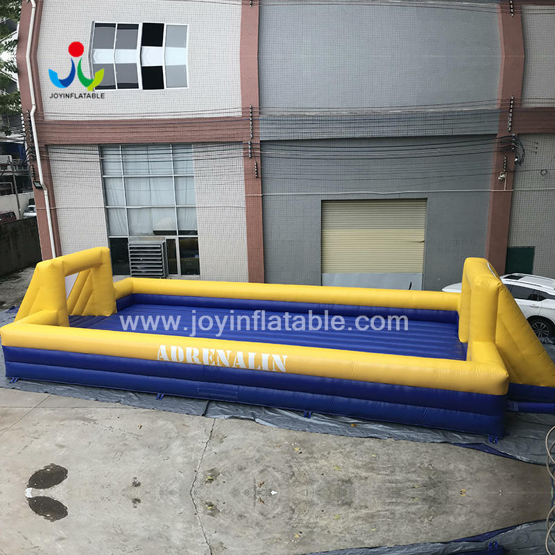 Inflatable Street Soap Soccer Snooker Football Field