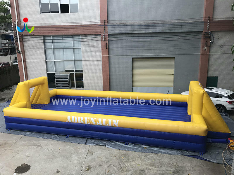 Inflatable Street Soap Soccer Snooker Football Field Video